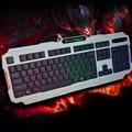 2016 HOT SALE New  K2 USB Wired Illuminated Colorful LED Backlight Multimedia PC Gaming Keyboard Subtle ergonomic design NICE