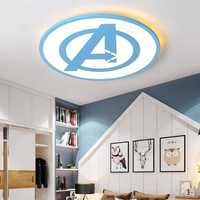 Modern Minimalist Ceiling Lamp Ultra thin Bedroom Study led Lighting Avengers Personality Lamps Round Ceiling Lights House Light