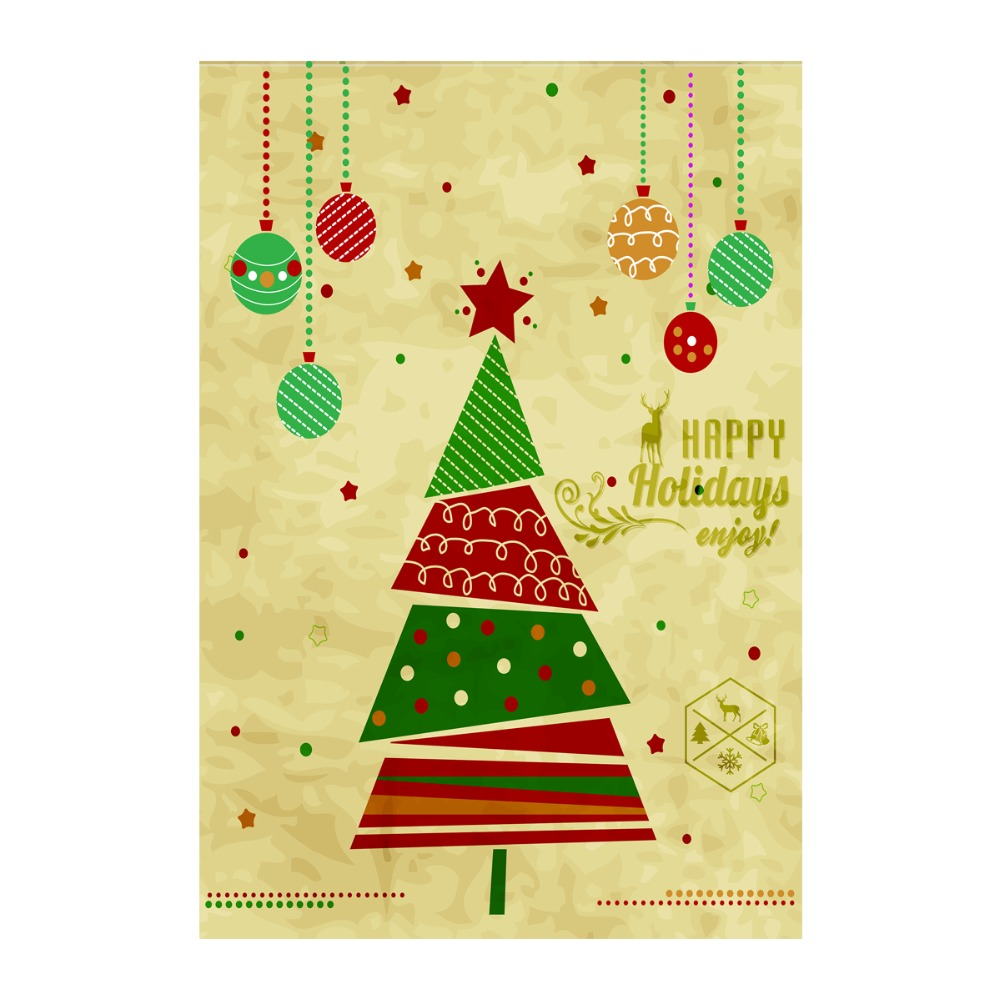 happy holidays enjoy decorative outdoor and indoor flags 100