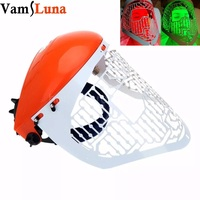 3 Color LED Light Therapy Facial Mask Photon For Skin Rejuvenation PDT Wrinkle Acne Remover Anti