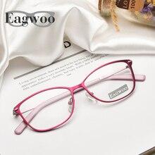 Women Designed Eyeglasses Prescription Optical Frame Super Light Spectacle Cat Eye Vintage Style Girl Glasses 9170