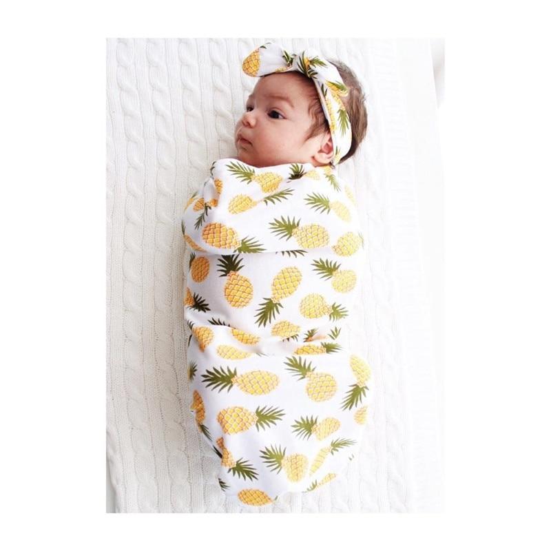 Aliexpress.com: Comprar 2 piezas moda recién nacido bebé Swaddle ...