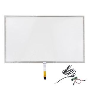 Оригинальный стеклянный монитор для 18,5 дюймов, 4 линии 429*253*2,3, дигитайзер, резистивный сенсорный экран + сменная карта управления