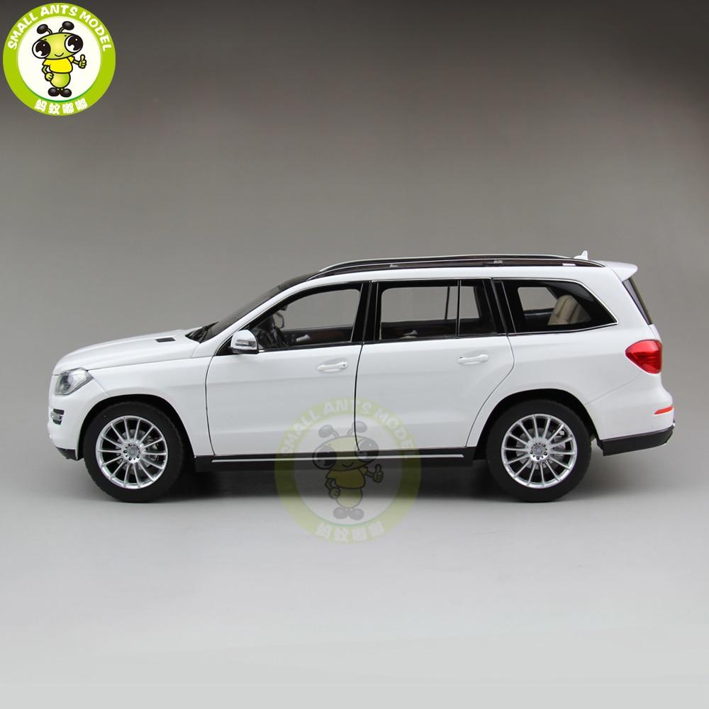 1/18 GL 500 X166 Class Klasse Diecast Metal Car SUV Model Toys Boy Girl Birthday Gift Collection Hobby