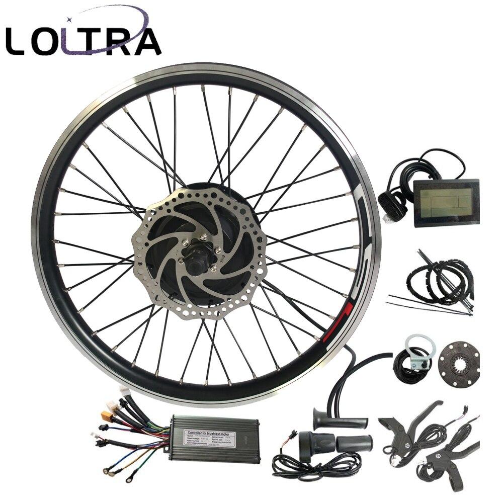 E-bike Conversion Kit Rear Drive 500W-1000W Hub Electric Bike Motor Kit Ebike