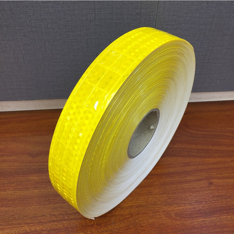 5CM Road Traffic Flashing Small Square Warning Safety Reflective Tapes Marine Checkered Reflective PVC Strip For Clothes