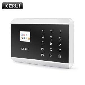 Image 5 - Pannello di Controllo di Allarme KERUI 8218G Bianco Nero IOS Android APP controllo GSM PSTN Antifurto Casa Sistema di Allarme di Sicurezza