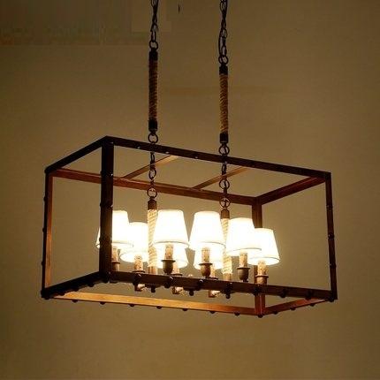 Corda De Ferro Droplight Loft Estilo Industrial Do Vintage Lâmpada Pingente de Sala de Jantar Abajur LEVOU Pendurado Luz Luminárias de Iluminação Interior