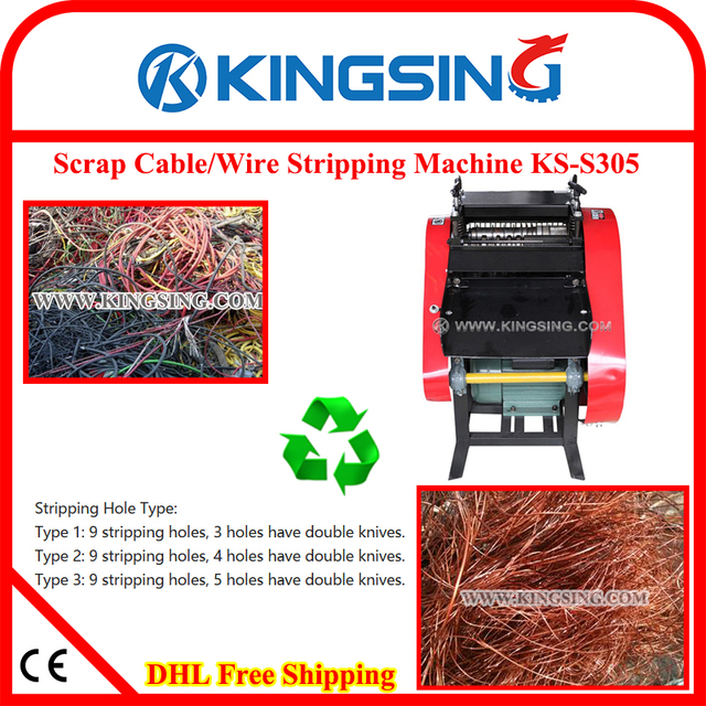 Scrap Cable Stripping Machine, Scrap Wire Recycling Machine, Wire ...