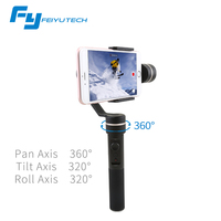 FeiyuTech FY SPG Handheld Splash Proof 3 Axis Gimbal Stabilizer Gyro For IPhone Smartphone Gopro Action