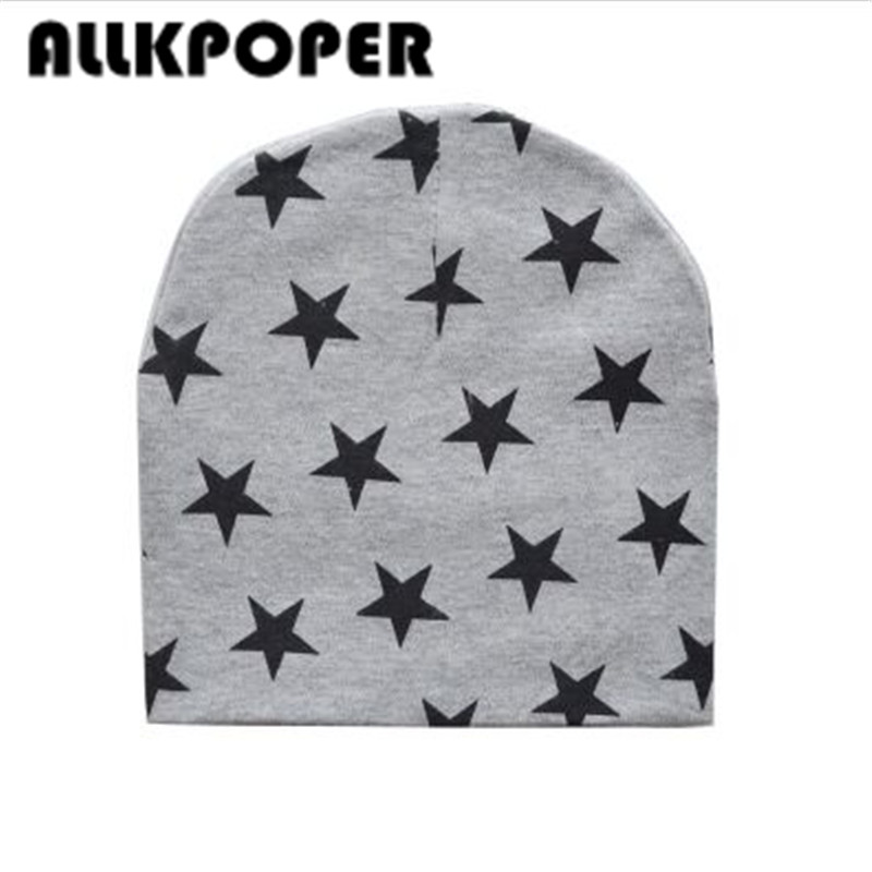 ALLKPOPER New star baby hat cotton scarf beanies cap spring crochet knitted caps scarves touca infantil for 0.5-3years old child new star spring cotton baby hat for 6 months 2 years with fluffy raccoon fox fur pom poms touca kids caps for boys and girls