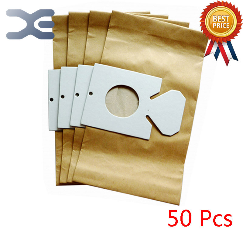 50Pcs High Quality Compatible With Hitachi Vacuum Cleaner Accessories Paper Bag Dust Bag CV-5300/5500/6600/4800 50pcs high quality dust fog haze oversized breathing valve loop tape anti dust face surgical masks