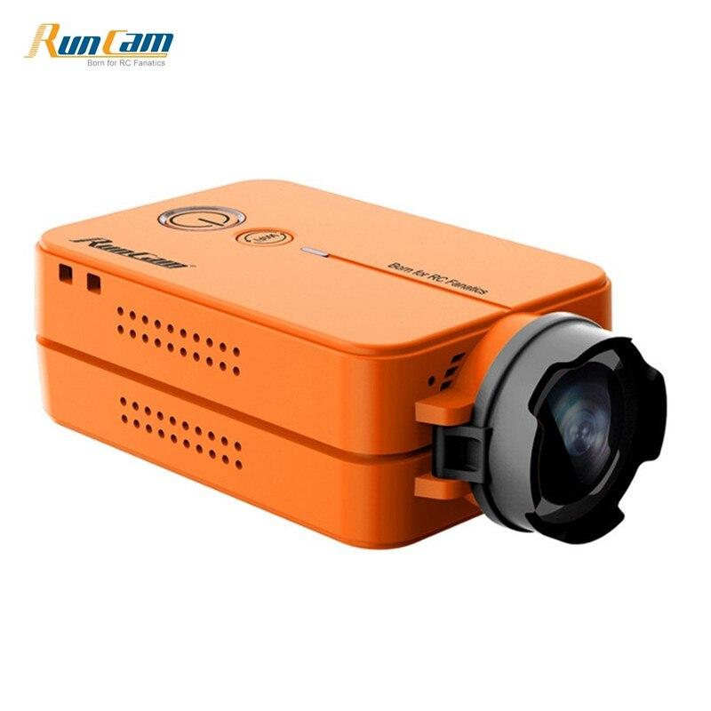 In Stock! RunCam 2 HD 1080P IR Blocked FOV 170 / 120 Degree Wide Angle WiFi FPV HD Action Camera Cam Silver Orange With Battery runcam 2 1080p hd 120 degree wide angle wifi fpv camera silver