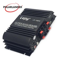 Lepy LP 168S Power Subwoofer 2.1 Channel Auto Audio Car Amplifier Bass Output HiFi Stereo Sound WithAUX Function Loud Speaker