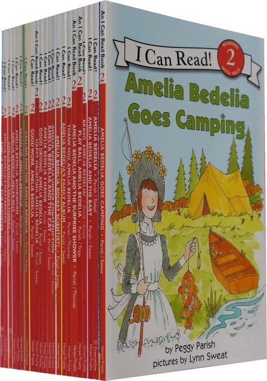 28 livres/ensemble Amelia Bedelia je peux lire l'histoire anglaise livres photo pour enfants jouet éducatif apprentissage anglais jouets éducatifs