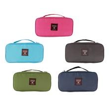 NEW Bra Underwear Lingerie Travel Bag for Women Organizer Trip Handbag Luggage Traveling Bag Pouch Case Suitcase Space Saver Bag