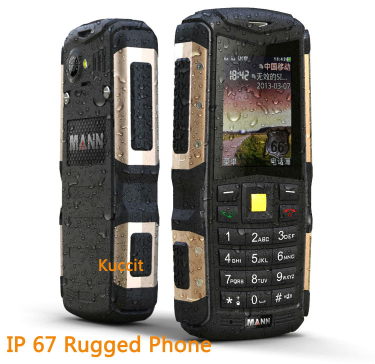 ip67 waterproof phone Original Mann ZUG S long standby GSM old man mobile cell phones outdoor czech Polish Russian keyboard