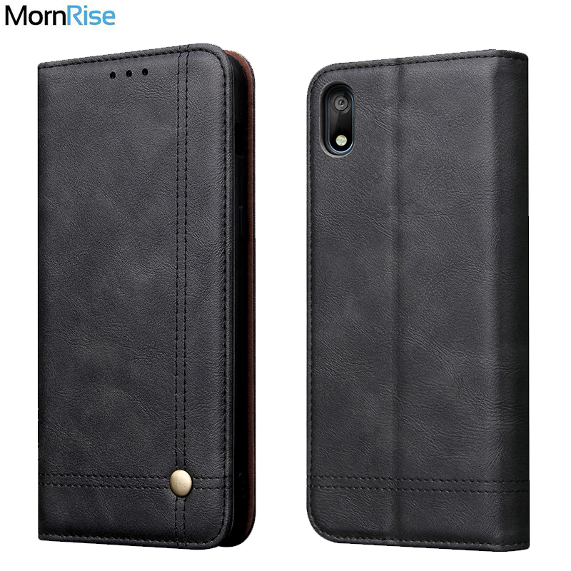 Luxury Retro Slim Leather <font><b>Flip</b></font> Cover <font><b>For</b></font> <font><b>Huawei</b></font> Y5 2019 <font><b>Case</b></font> Wallet Card Slot Stand Magnetic Book Cover <font><b>For</b></font> <font><b>Honor</b></font> <font><b>8S</b></font> Phone <font><b>Cases</b></font> image