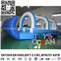 2017 New design cheap inflatable slip and slide for backyard party rental