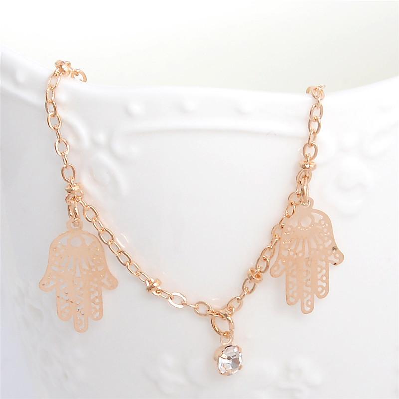 HTB14AduLpXXXXcWXVXXq6xXFXXXu Golden Foot Chain Jewelry Spirituality Ankle Bracelet For Women - 5 Styles