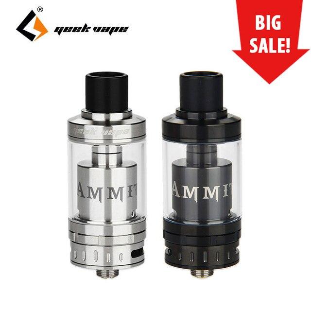 Geekvape Ammit RTA Atomzier 3.5ml Capacity 22 mm Diameter Single Coil Build Top refill system e cigs Vape Ammit RTA Tank