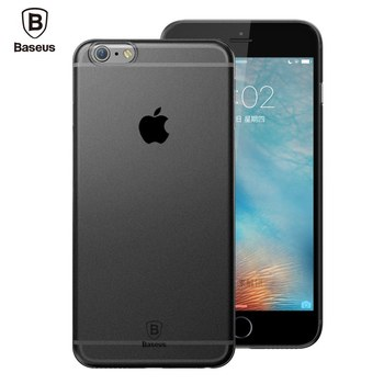 Baseus Luxury Matte Silicone Cover For iphone 6 6s case Ultra Thin Anti-knock protector case for iphone 6 6s plus Coque Fundas iphone 6