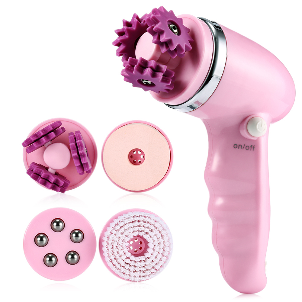 1 set 4 in 1 Multifunction Electric Face Facial Cleansing