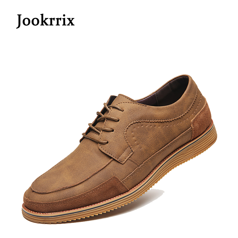 2017 New Autumn Fashion British Style Leisure Men Brogue Shoes Gray Genuine Leather Brown Breathable All Match Lace Up Black kredige genuine leather casual shoes british fashion leisure breathable men shoes lace up designer height increasing shoes 39 44