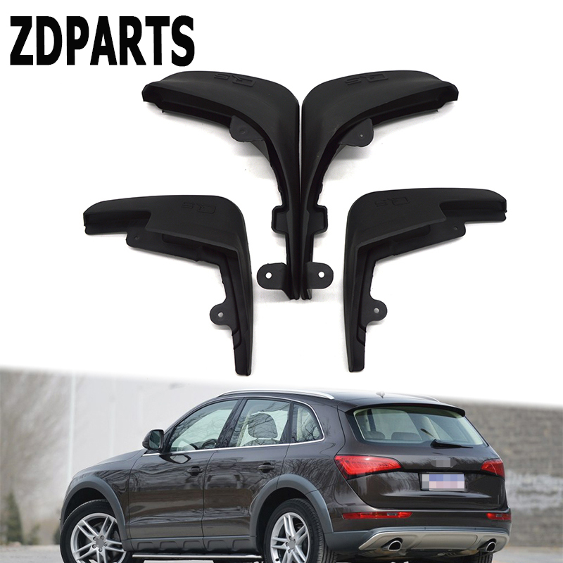 ZDPARTS Car Front Rear Mudguards For Audi Q5 2009 2010