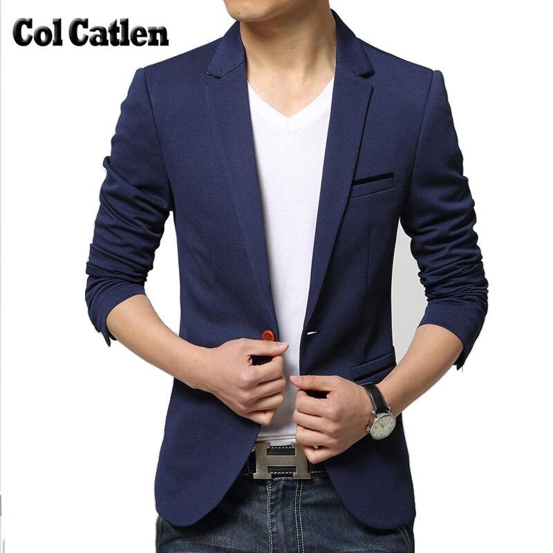 Nieuwe Merk Heren Blazer Hoge kwaliteit Mode Slim Fit Heren Blazers - Herenkleding