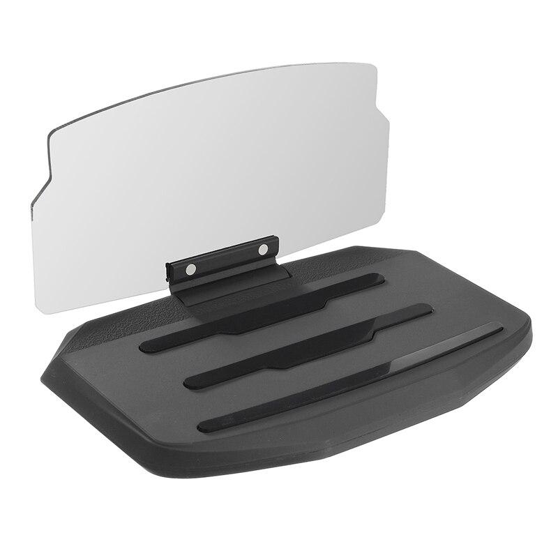 Universal-handy-autohalterung Windschutzscheibe Projektor HUD Head Up Display 6,5 Zoll Für iPhone/Samsung GPS