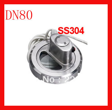DN80 SS304 union type sight glass view glass with light / sanitary sight glass for the tank 3 welding union sight glass 76mm sight glass window for moonshine still columns bigger view