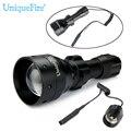 UniqueFire UpgradeT50 LED Фонарик Для Охоты 3 Режимы 1503 Osram ИК 940 Ик-Свет Ночного Видения Лампе Torche + Крыса хвост