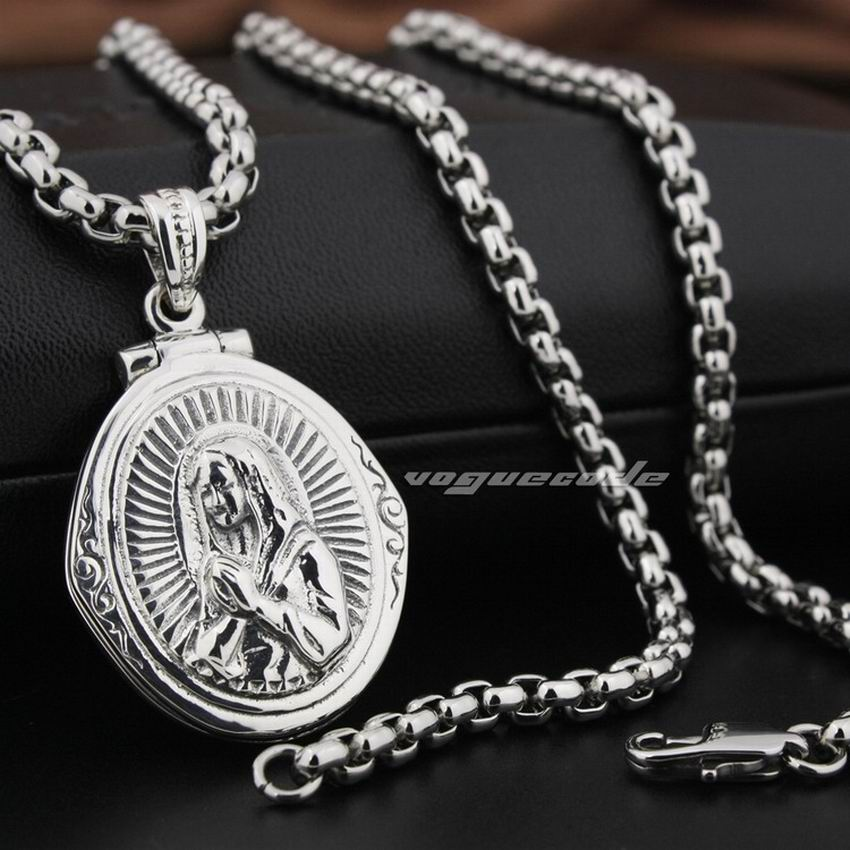LINSION 925 Sterling Silver Openable Virgin Mary JESUS Cross Charms Pendant 8Q016LINSION 925 Sterling Silver Openable Virgin Mary JESUS Cross Charms Pendant 8Q016