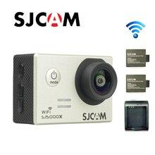 Free shipping Original SJCAM SJ5000X Elite WiFi 4K 24fps Diving 30M Waterproof Action Camera Extra 2pcs