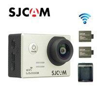 Free shipping!!Original SJCAM SJ5000X Elite WiFi 4K 24fps Diving 30M Waterproof Action Camera+Extra 2pcs Battery+Battery Charger