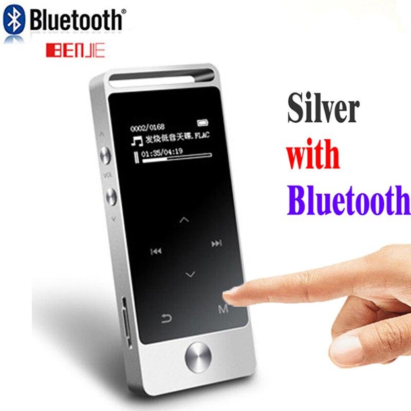 Effizient Original Touch Screen Mp3 Bluetooth 8 Gb S5 Metall Ape/flac/wav Hohe Sound Qualität Entry-level Verlustfreie Musik-player Mit Fm Durchblutung Aktivieren Und Sehnen Und Knochen StäRken Unterhaltungselektronik
