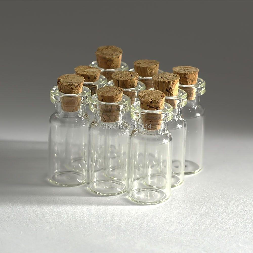 Small Decorative Bottles Wholesale: 10pcs 2ml 16*30mm 0.62*1.18 In Small Glass Bottles Vials