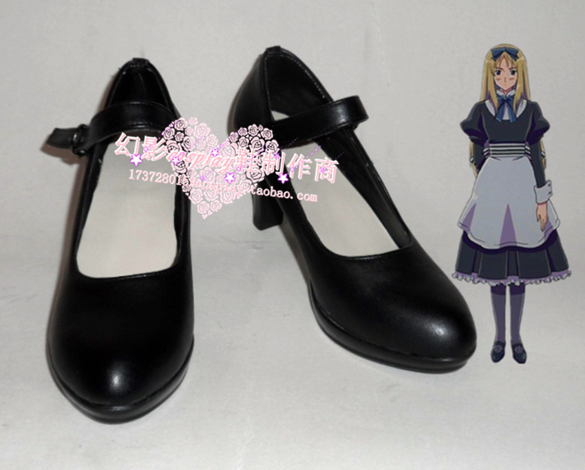 APH Axis Powers hetalia  Natalia Alfroskaya  Cosplay Shoes Boots Custom-Made