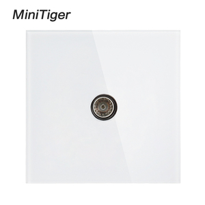 Minitiger White Luxury crystal