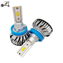Fuxuan H4 H7 H11 H1 H3 LED 9005/HB3 9006/HB4 9012  45W 3400Lm Car Headlight Bulbs Fog Lights White 6000K 12V 24V