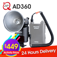 GODOX WITSTRO AD360 AD-360 Powerful and Portable Barebulb Flash (360W/S GN80 Hotshoe and Off-Camera Flash )