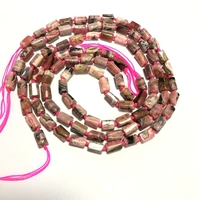 Wholesale 3strings 15.5 100% Natural Rhodochrosite Gem Beads,Raw Gem Stone Nugget Gem Jewelry Making Beads