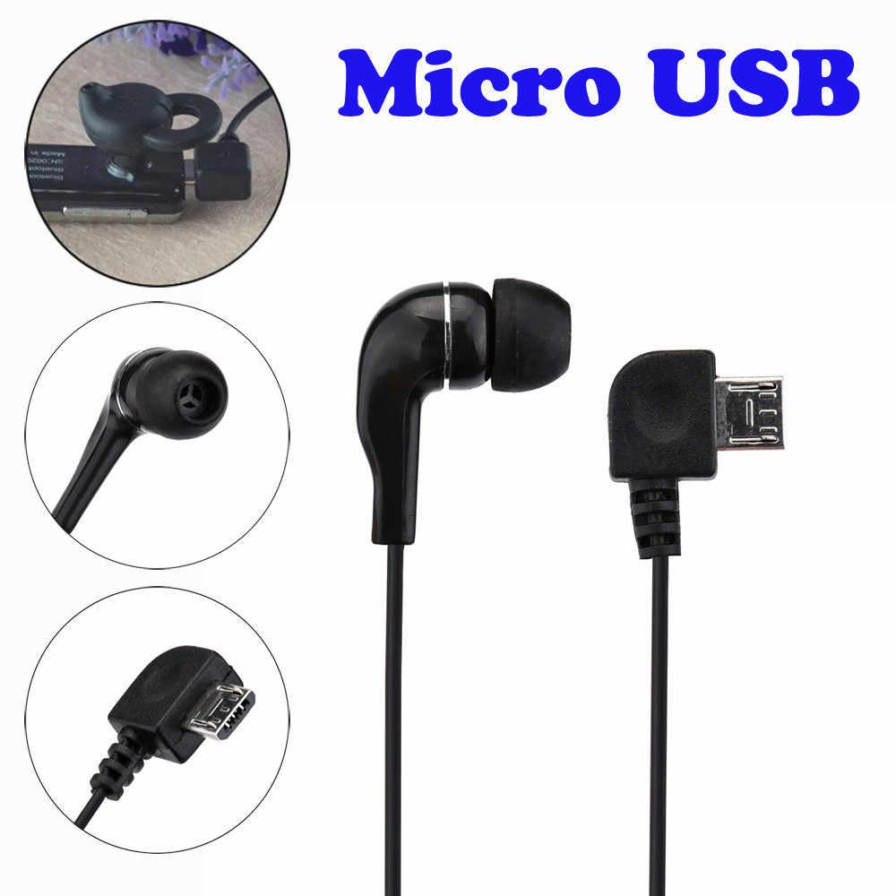 HIPERDEAL czarny i biały uniwersalny Micro USB Mono pojedyncze słuchawki Stereo dla Bluetooth do zestaw słuchawkowy Bluetooth słuchawki