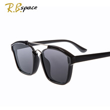 RBspace vintage Sunglasses men 2018 Brand Designer Luxury  for women Summer Style woman UV400
