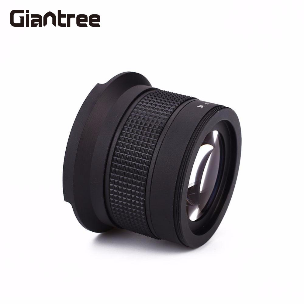 все цены на giantree 58MM 0.35X Fisheye Wide-angle Lens Panoramic Lens Bag Camcorder Accessories Lens for Nikon
