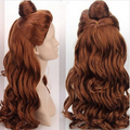 LL<<< 001878 Cosplay Wig Princess Beauty and the Beast - Bell Princess girl wig queen brazilian
