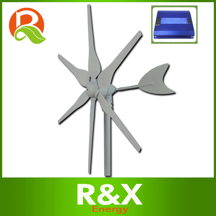 купить 6 PCS blades wind turbine 300w, 3 phase windmill generator 300w, used for land and marine. Combine with wind controller. по цене 16724.69 рублей