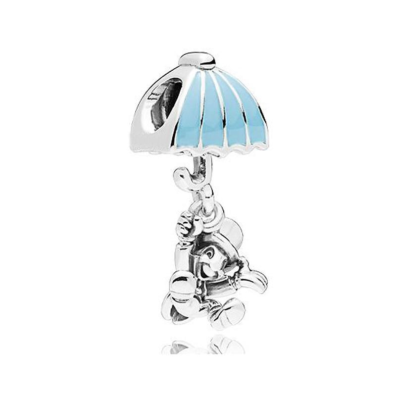 Boosbiy высокое качество синий шарик Шарм Европейский Jiminy крикет Подвеска Шарм из бисера Fit для женщин Пандора браслет и браслет DIY ювелирные изделия