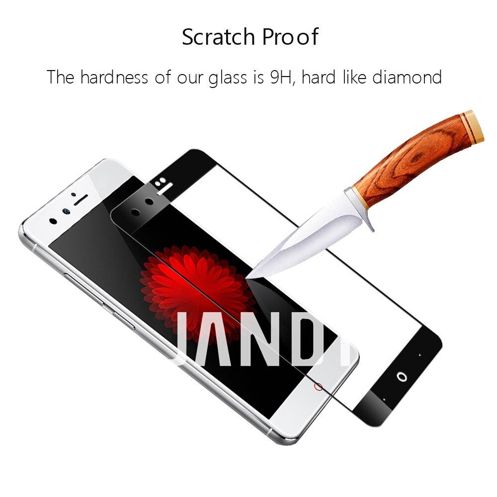 Для zte Нубия Z11 мини защита экрана закаленное стекло Полный Чехол чистые пузырьков аксессуары
